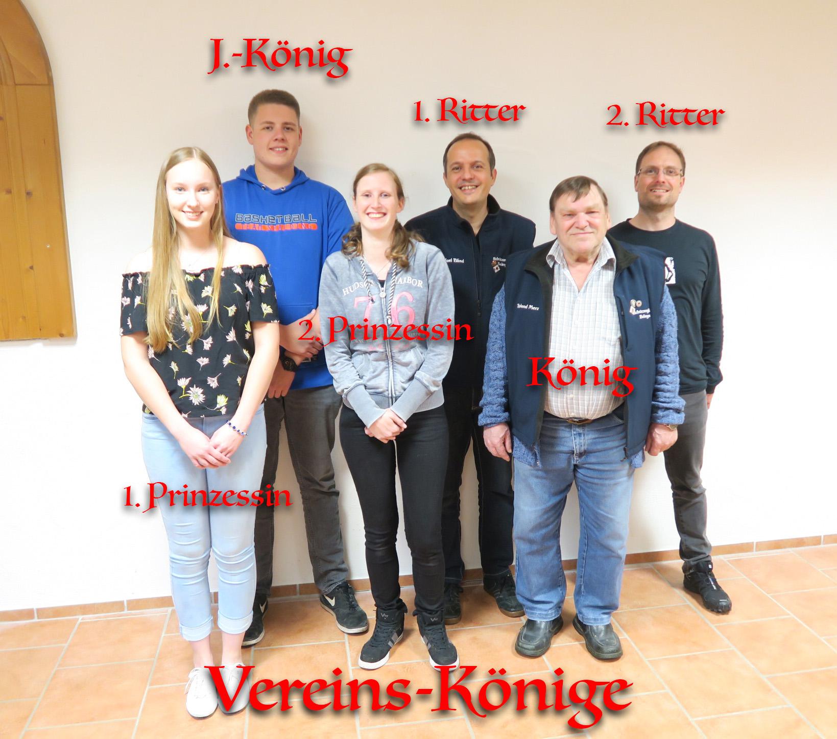 HV-16-Vereinskönige