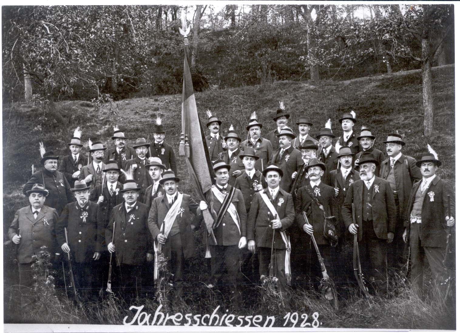 Jahresschießen 1928